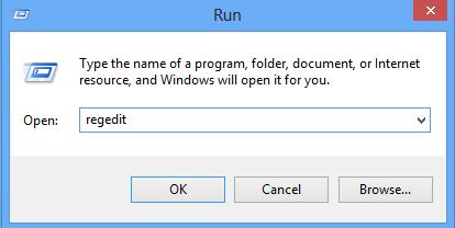 enter registry setting