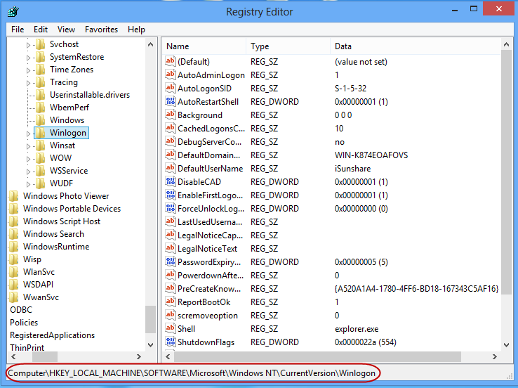 Bypass Windows 8 Login password - Sign in Windows Automatically
