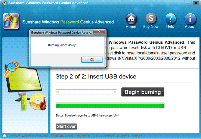 create samsung laptop password reset disk