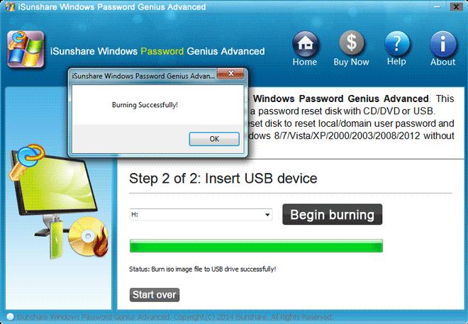 create samsung laptop password reset disk