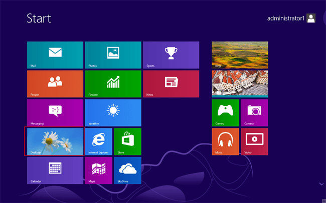 click-desktop-icon-on-start-menu