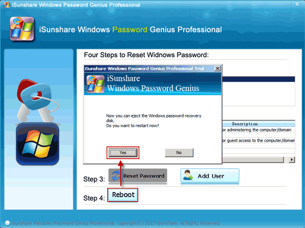 click-reboot-and-eject-windows-password-recovery-disk