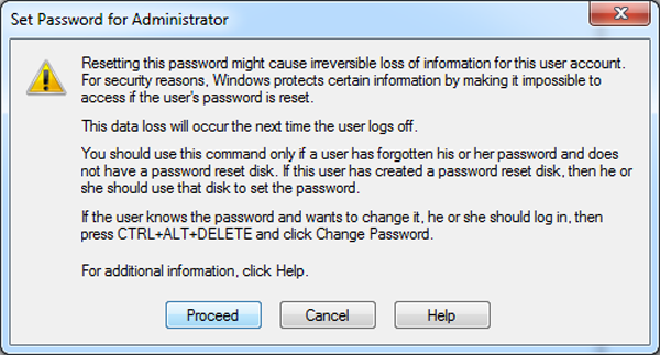 how to create new password for laptop
