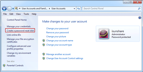 choose-create-password-reset-disk