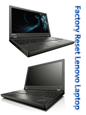 How to Factory Reset Lenovo Thinkpad Laptop When Forgot Password