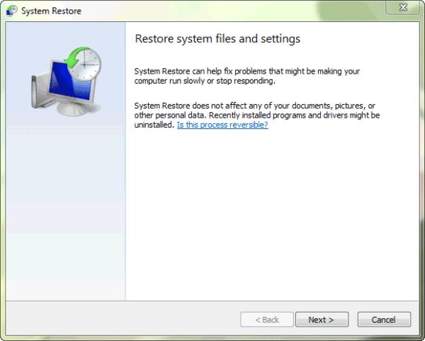 start-system-restore-program