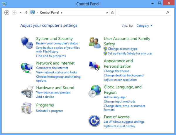 access-windows-8-control-panel