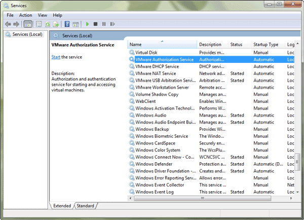 search-vmware-authorization-service