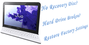 how to format sony vaio laptop