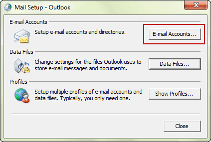 select-account-settings-in-outlook-window
