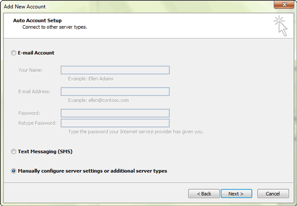 select-manual-configure-settings