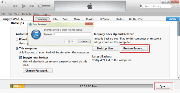 restore-ipad-from-encrypted-itunes-backup-data