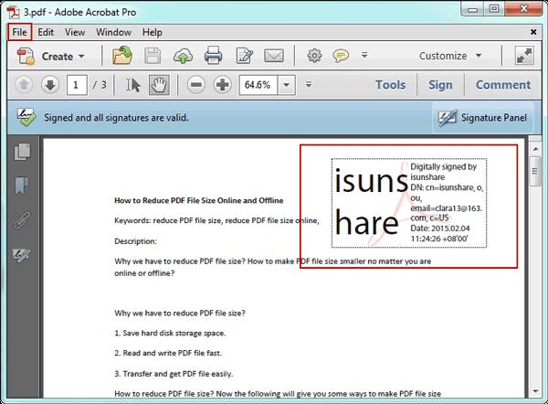 how to e sign pdf
