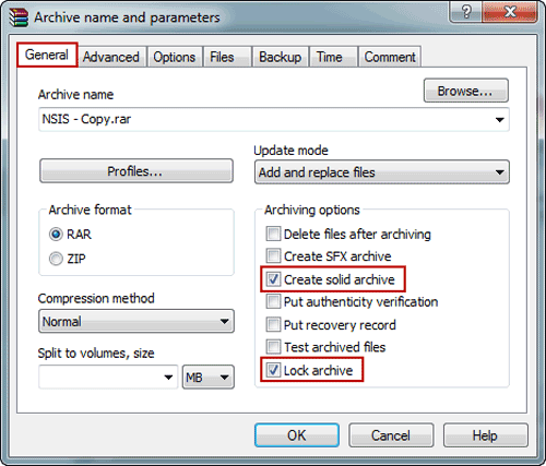 How to Increase File Compression Ratio in WinRAR