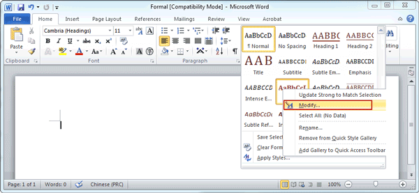 How to Change Default Template in Word 2007/2010iSunshare Blog