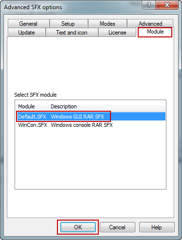 7 Zip Sfx Options How To Create 7z Self Extracting Archive