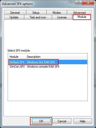select SFX module