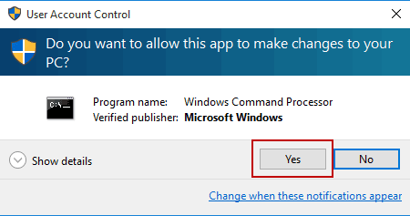run command prompt with administrator