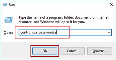 run control user command in windows 10