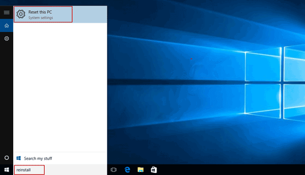 How to Restore Windows 10 to Factory Settings