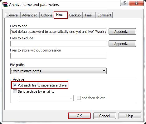 batch file zip: