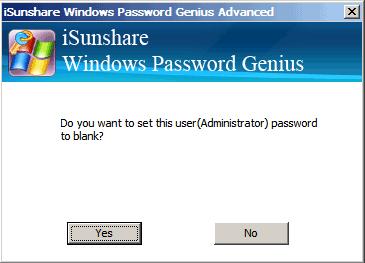 remove Asus local user lost password
