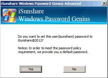 reset Asus Microsoft account password