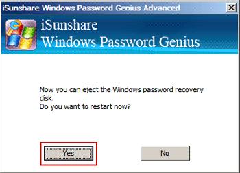 restart locked windows 8 with new Microsoft account password