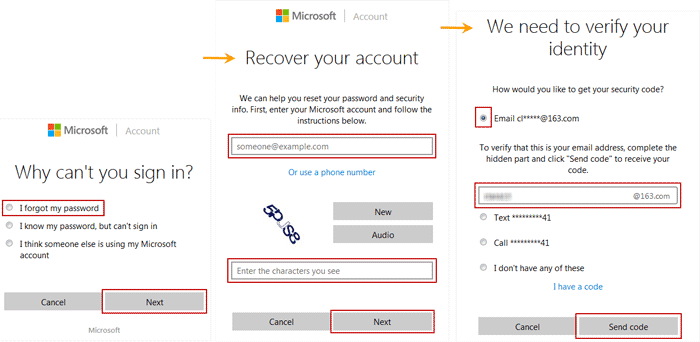 verify Windows 8 Microsoft account