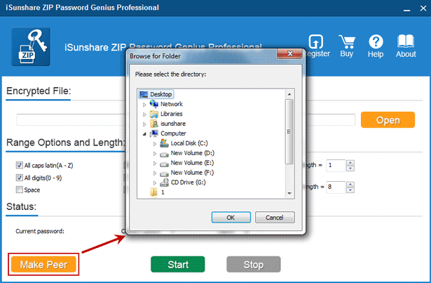 create client program installation file