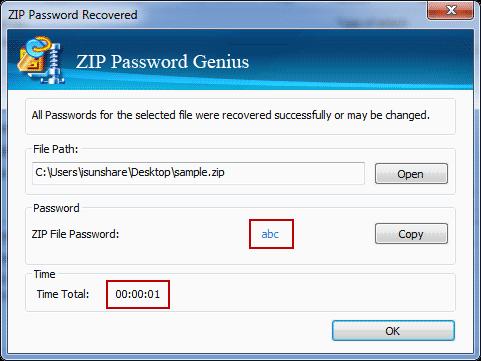 successfully recover forgotten zip/winzip/7zip password on a pc