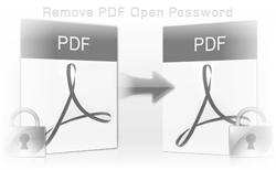 remove pdf open password