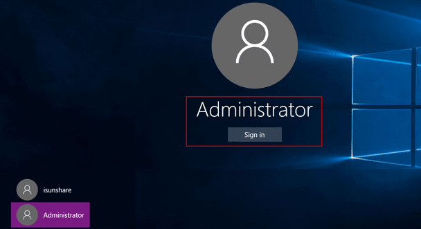 unlock dell xps laptop with built-in administrator