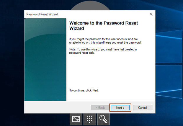 reset hp pavilion password with disk and wizard