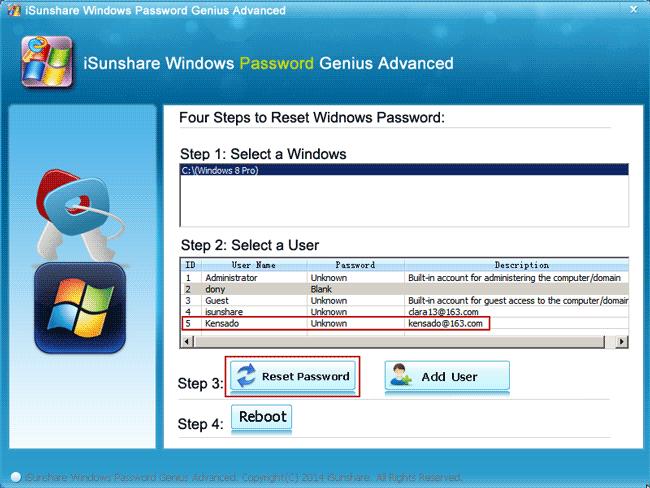 reset hp elitepad tablet Microsoft account password