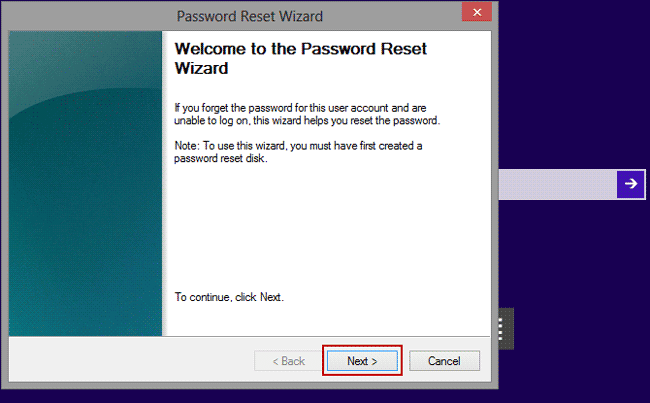 reset hp tablet password with reset disk