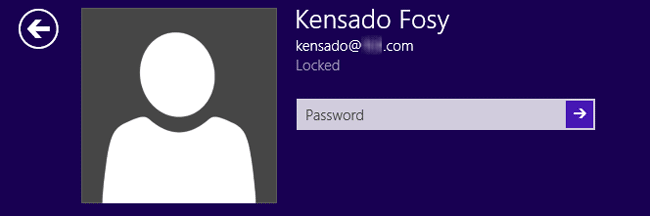 locked out of Microsoft account Windows 8