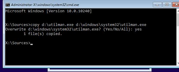 restore windows 10 system changes