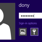 sign in Windows 8 with local account instead of locked Microsoft account