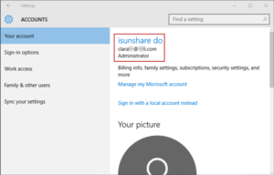 successfully switch to sign in Windows 10 with Microsoft account