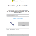 enter Windows Live ID need to reset password