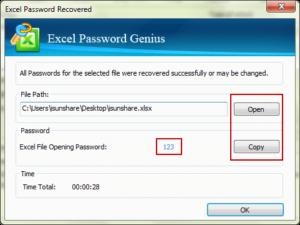 copy excel workbook open password