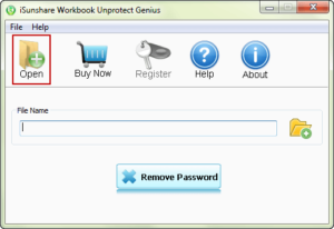 launch workbook protection removal utility