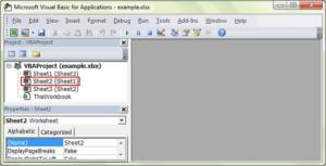 successfully open VBA editor