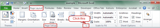 excel how to get comments to print