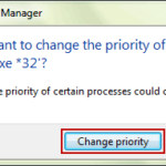Set High Priority For Specified Process Isunshare