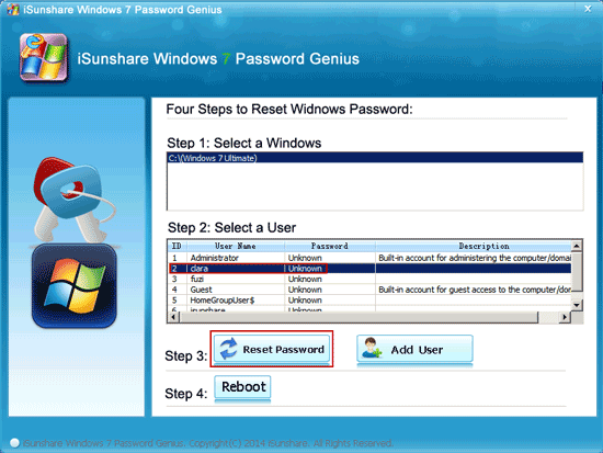 remove windows 7 login password with windows password genius