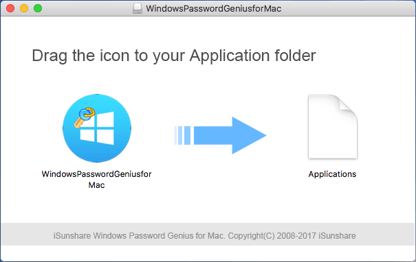 prepare windows password recovery tool for mac