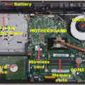 laptop inner parts