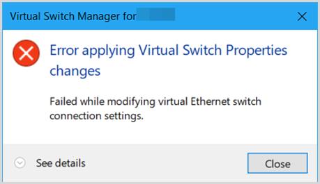 Fix: VM no Internet Access Hyper-V Windows 10 (2018)